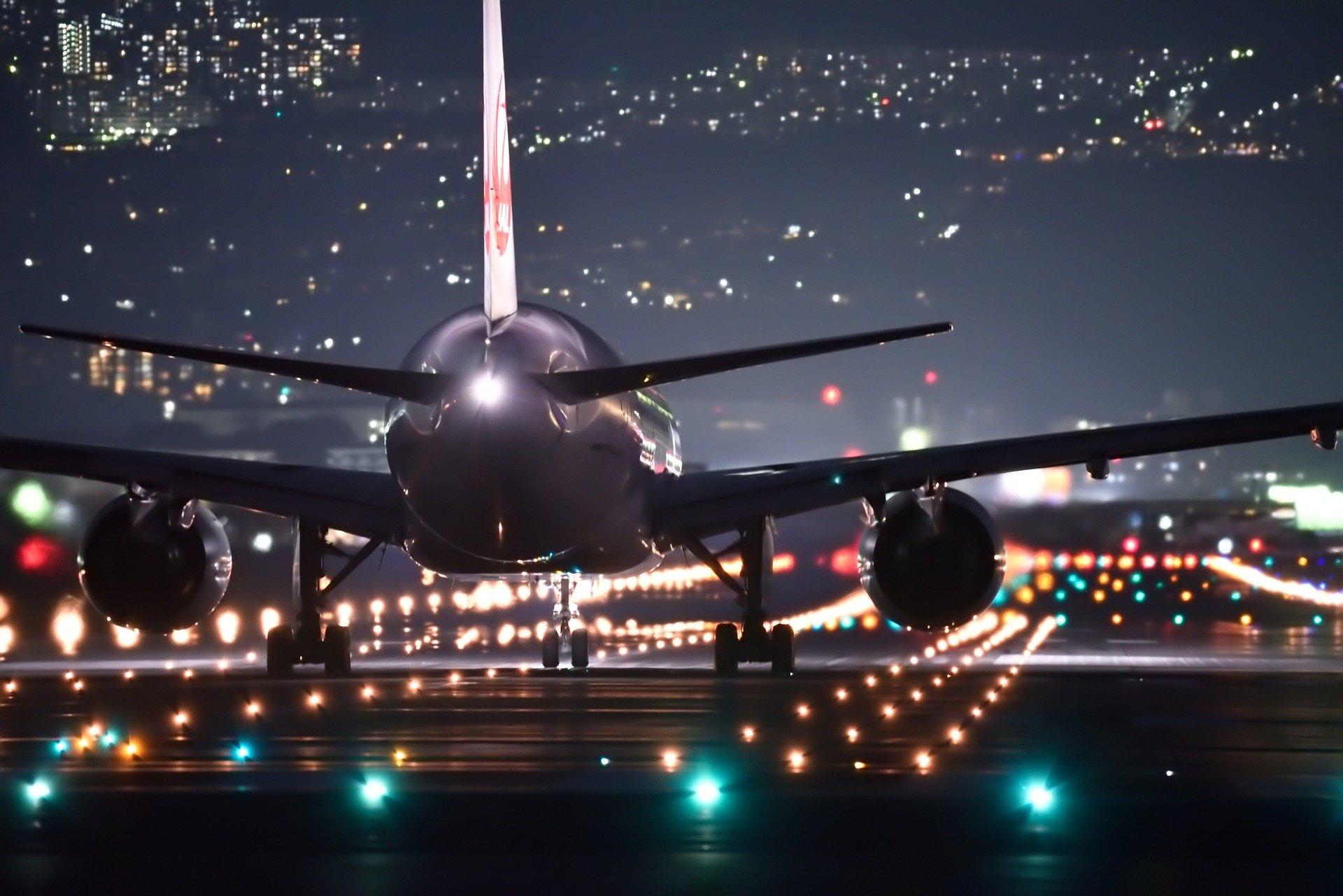 Aeroplano atterrato